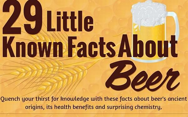 Infografika - ciekawostki o piwie