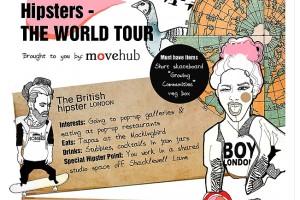 Ciekawe infografiki: Hipsterzy na świecie