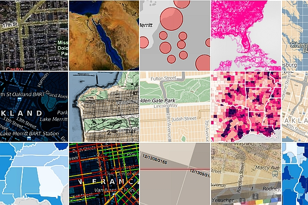 Darmowe programy do robienia map: Polymaps