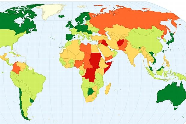 Darmowe programy do robienia map: ChartsBin