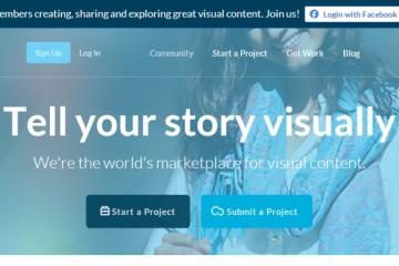 Darmowe programy do robienia infografik - Visual.ly
