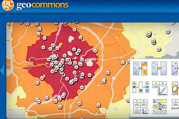 Darmowe programy do robienia map: GeoCommons