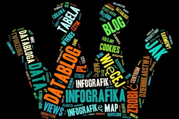 Chmura słów DataBlog.pl (fot. tagxedo.com)