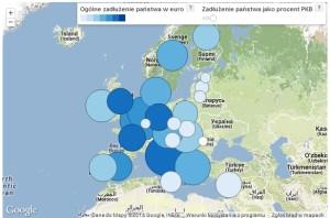 Najbardziej zadłużone kraje Unii Europejskiej