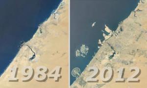 Dubaj - Mapa (Fot. Google Maps)