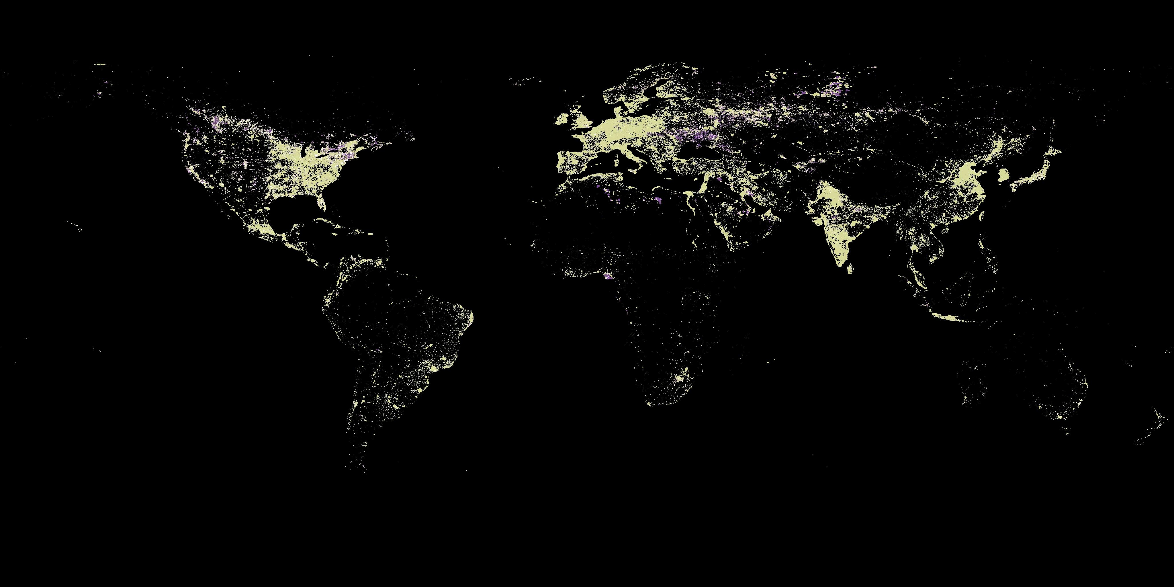 Nocne Zdjecia Satelitarne Co Nam Mowia Datablog Infografika
