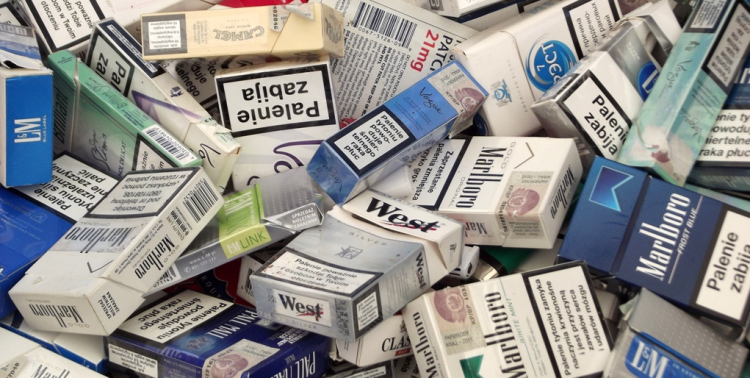 Palenie papierosów