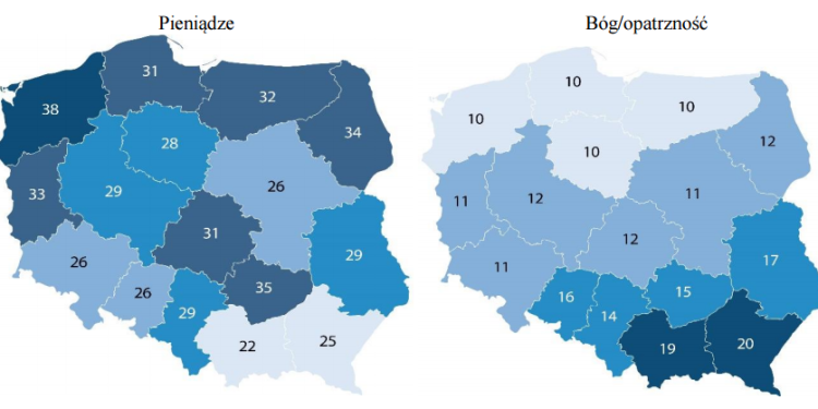 szczęśliwe życie - mapa