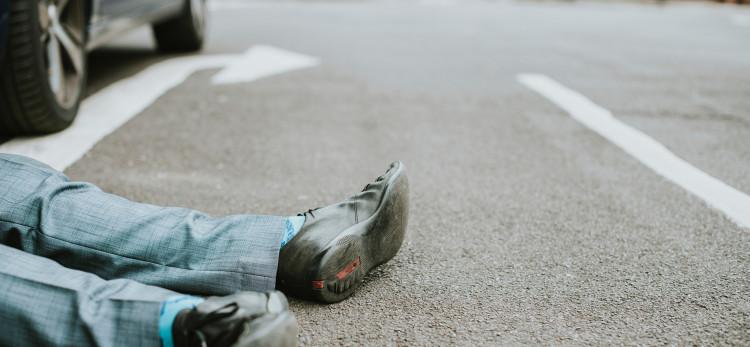 Wypadki na drogach w 2018